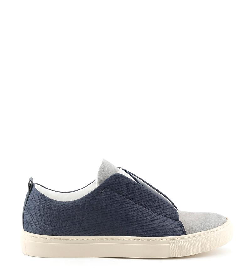 Comprar Made In Italia Zapatillas de piel Gregorio azul