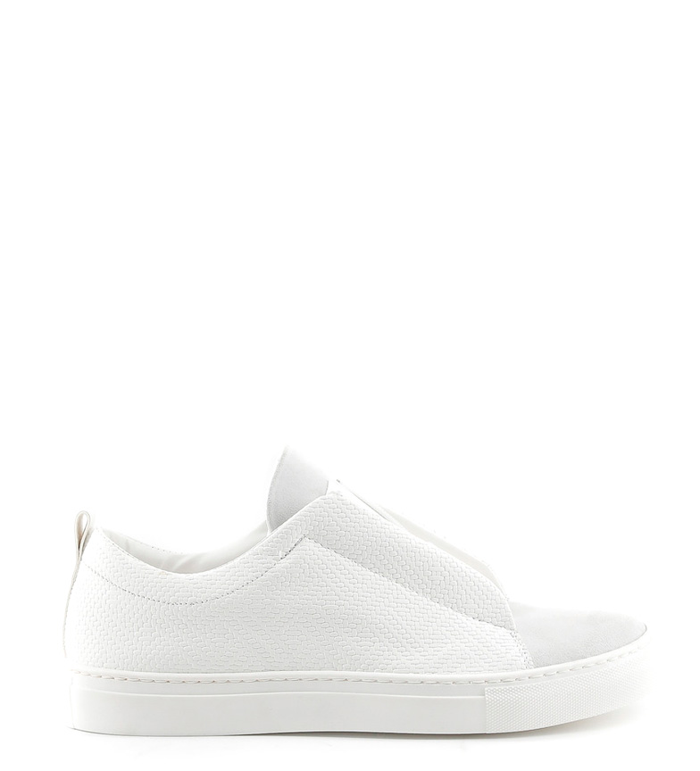 Comprar Made In Italia Gregorio chaussures en cuir blanco