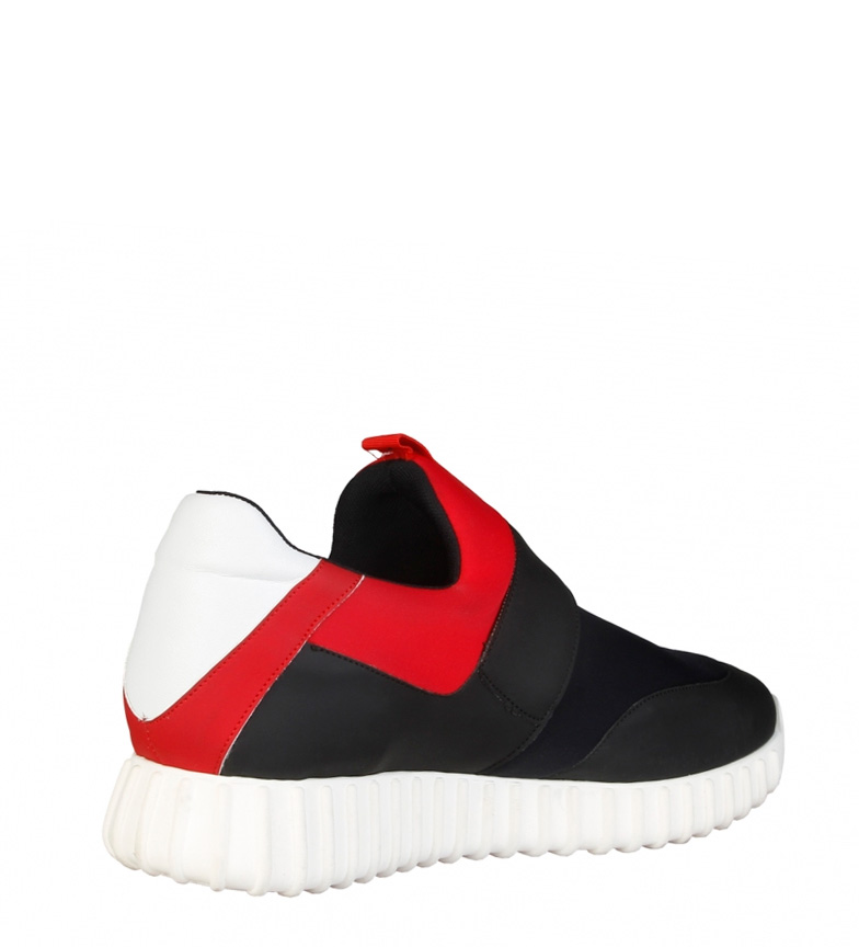 Made In Italia Zapatillas Leandro rojo, negro