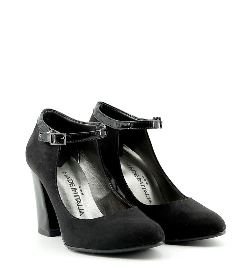 Made Italia Zapato Bianca Tacn9cm In Negroaltura dBroeCx