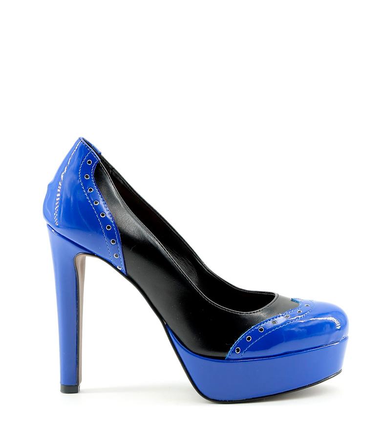 Comprar Made In Italia Zapato Gemma azul, negro -Altura tacón: 12cm-
