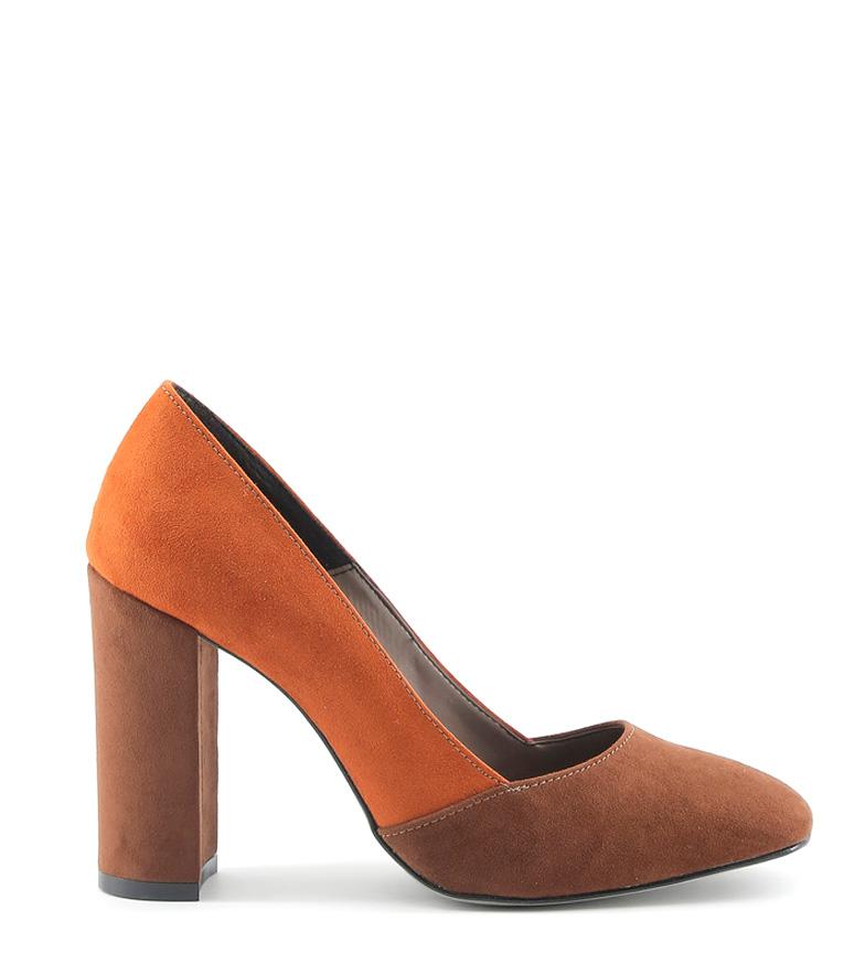Comprar Made In Italia Giada talon chaussure d'orange -Hauteur: 10cm-