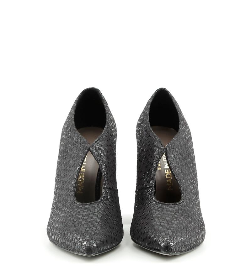 10cm Italia Margherita Chaussure Noir Femme hauteur In Talon De Made 4gfqTx8wW