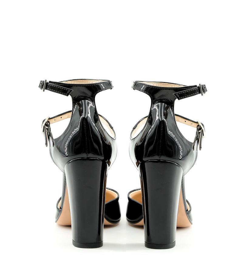 Altura negro Zapatos Made Italia 10cm Ada In tacón TwTRIXq