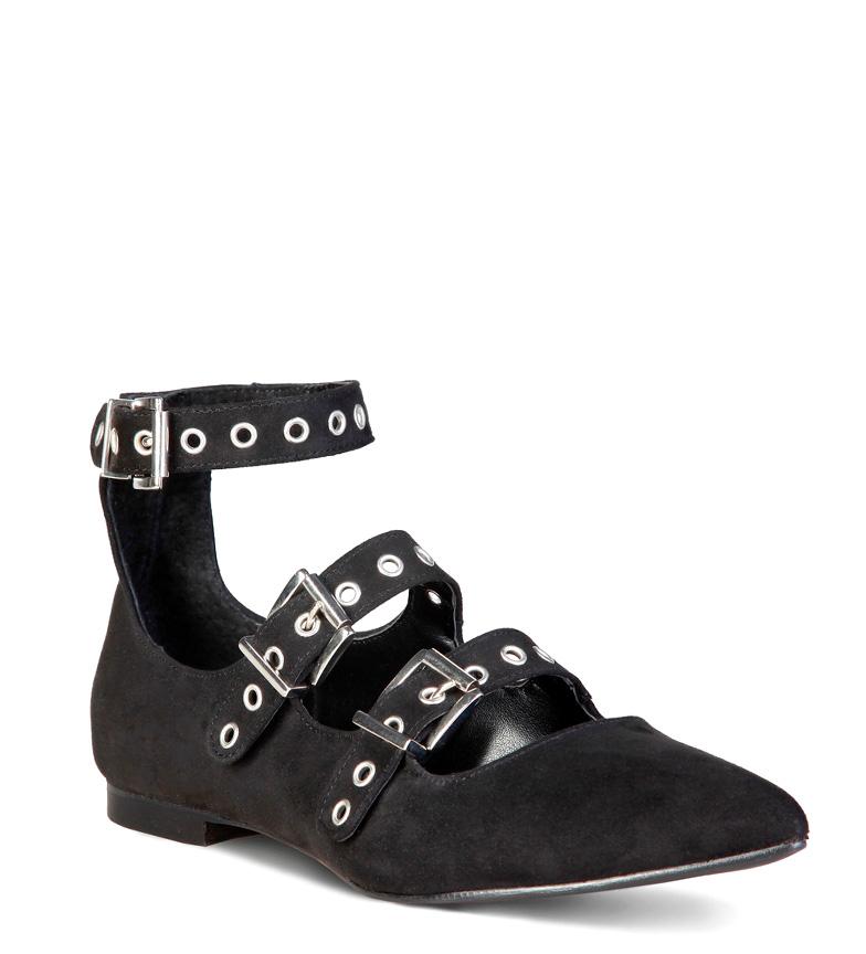Anastasia negro Italia Zapatos In Made 8wYqRR