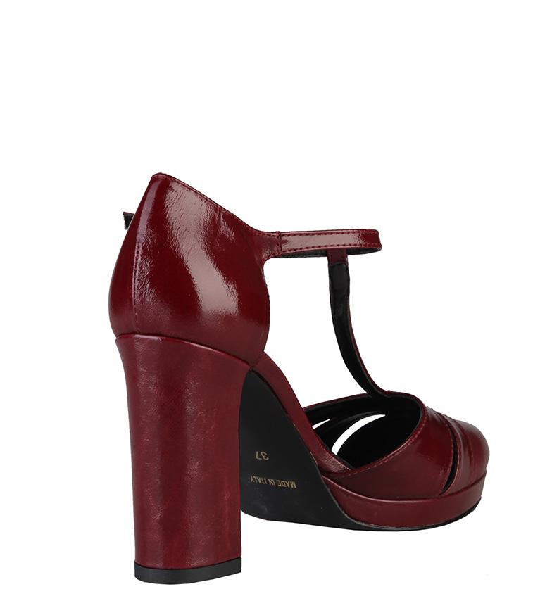 color Tacón de burdeos Zapatos In Cloe Made 9cm Italia 6fFqUaxFw