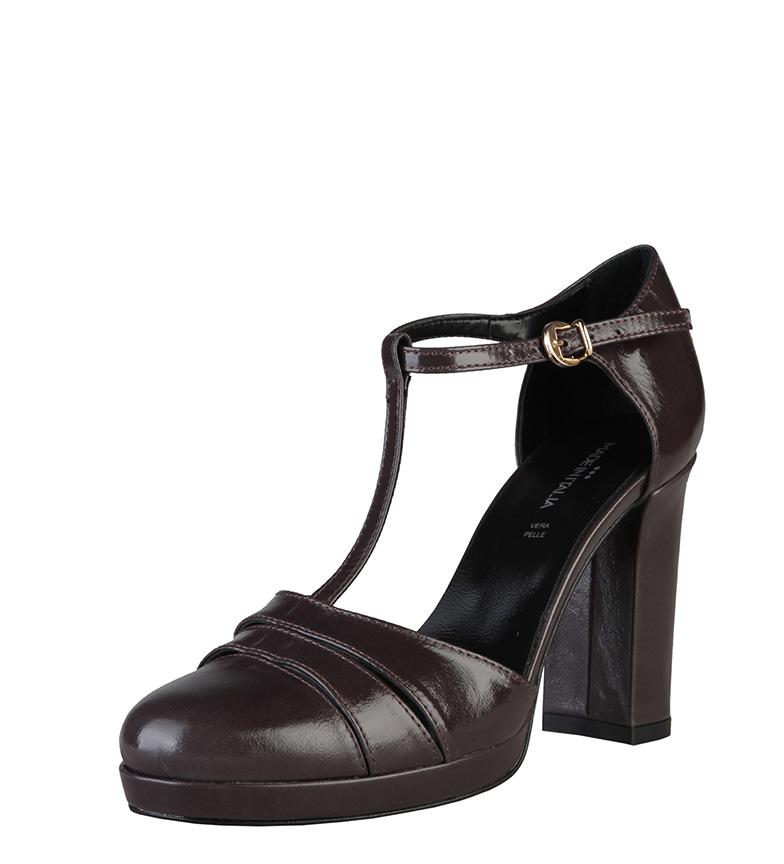 oscuro Cloe Zapatos gris Tacón 9cm Italia color Made In de qYFSx