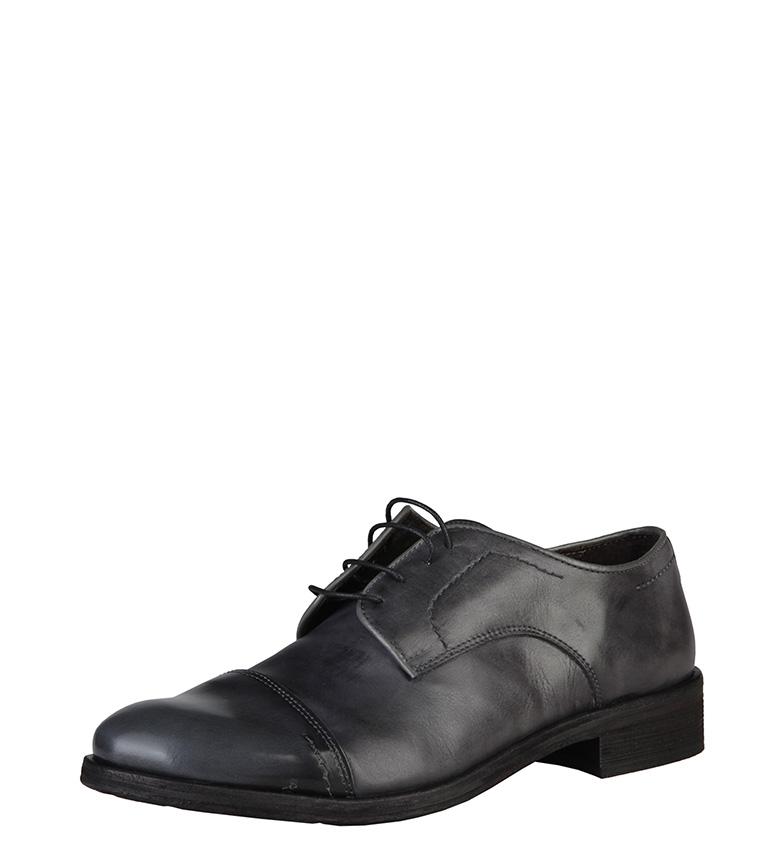 Made In Italia Zapatos de cuero Alberto gris oscuro