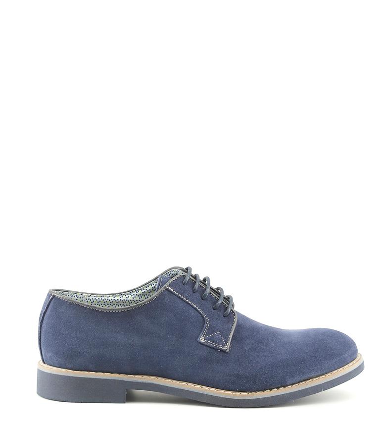Made In Italia Zapatos de piel Giuliano marino