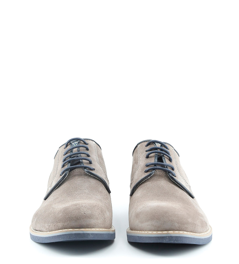 Made In Taupe Zapatos De Piel Giuliano Italia vbY6y7fg