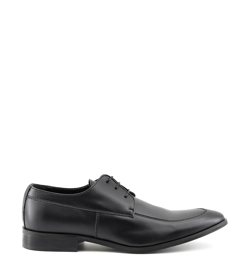 Made In Italia Zapatos de piel Leonce negro