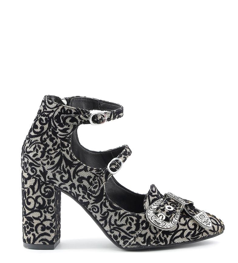 Comprar Made In Italia Greta shoes black, bronze -Heel height: 9cm-