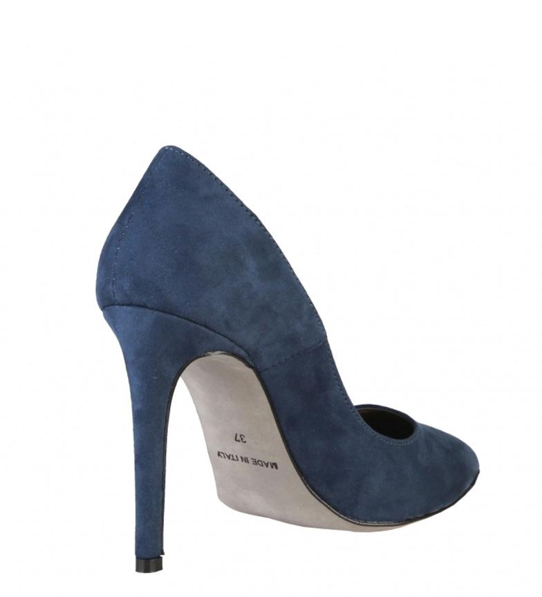 Italia Made Zapatos de In Tacón 10cm Made In marino Monica q6R1T