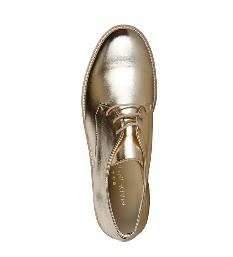 Made Made Zapatos In Nina Italia Italia oro In EqXpwx4x5