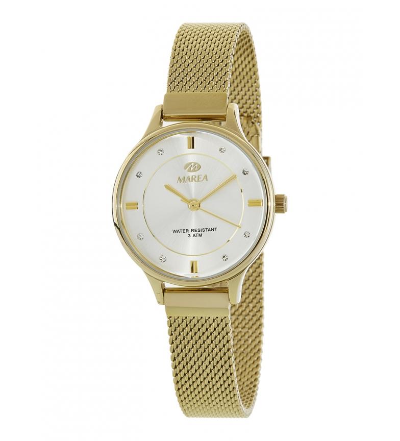 Comprar Marea Reloj analógico Retro dorado