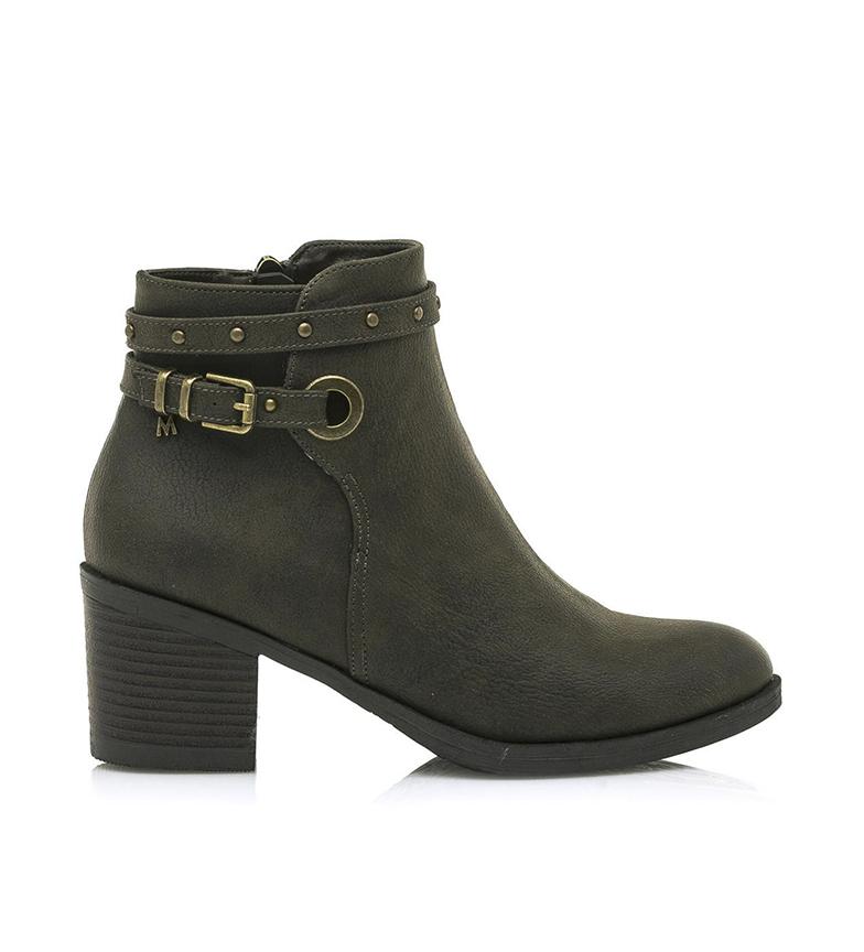 Comprar MARIAMARE Ankle boots 62642 khaki -Heel height: 6,3 cm