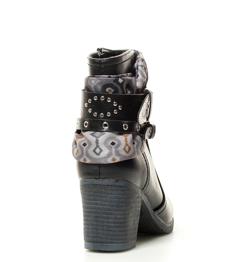 billig USA forhandler Mariamare Krenget Svart Støvler Lilah Høyde: 7cm CEST billig online SgvvHV