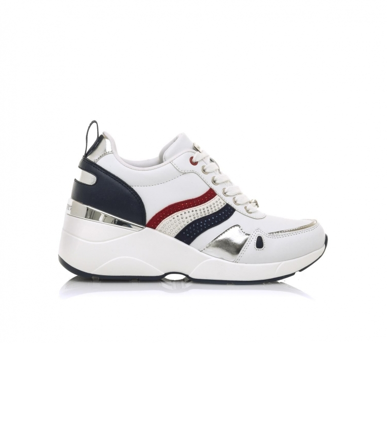 MARIAMARE Sneakers 68187 branco -Cunha de altura: 6,5 cm