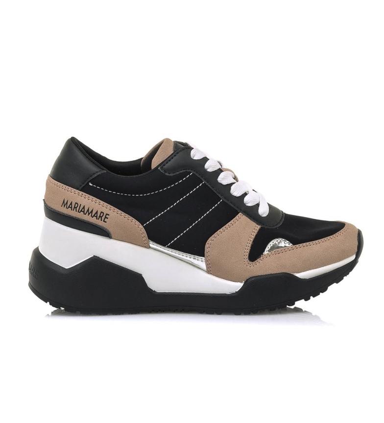Comprar MARIAMARE Zapatillas 62469 negro, nude -Altura cuña: 5.5 cm-