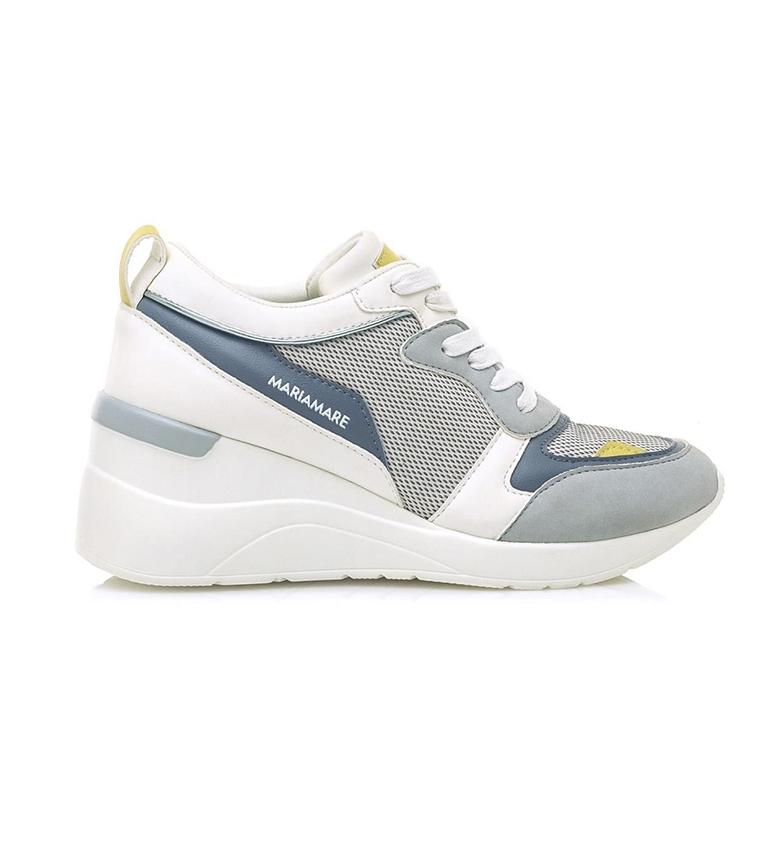 Comprar MARIAMARE Zapatillas 67598 blanco, azul -altura cuña: 8cm-