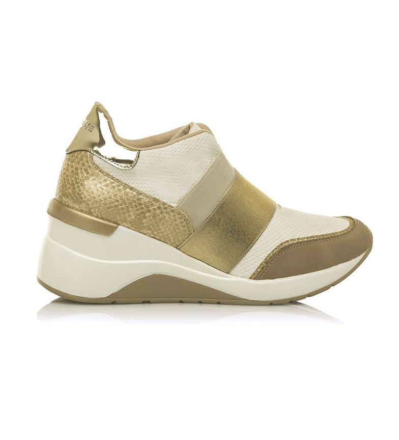 Comprar MARIAMARE Pantofole 67613 cammello, oro - altezza cuneo: 7cm