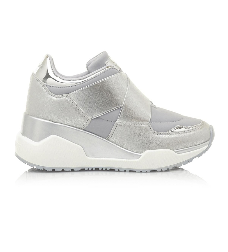 Comprar MARIAMARE Sneakers 67614 silver -height wedge: 7cm