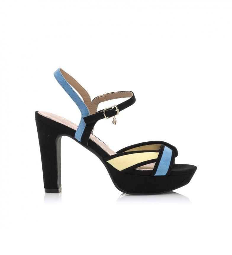 Comprar MARIAMARE Sandals 67728 black, blue, yellow -Heel height: 11 cm