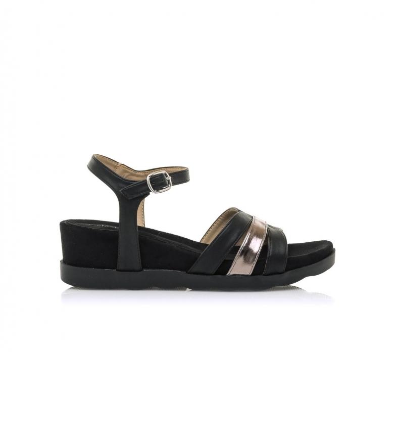 Comprar MARIAMARE Sandals 67755 black -Height wedge: 5 cm