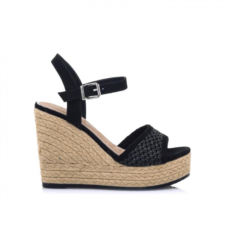 Comprar MARIAMARE Sandali 67783 neri -Altezza zeppa: 11 cm-