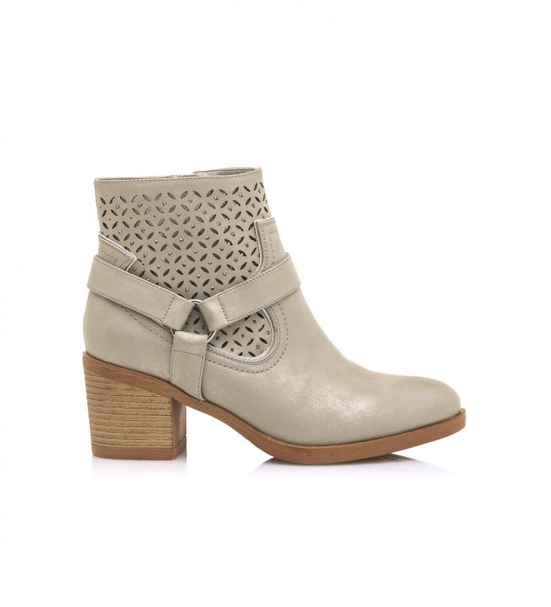 Comprar MARIAMARE Booties 67794 platinum -Heel height: 6,3 cm