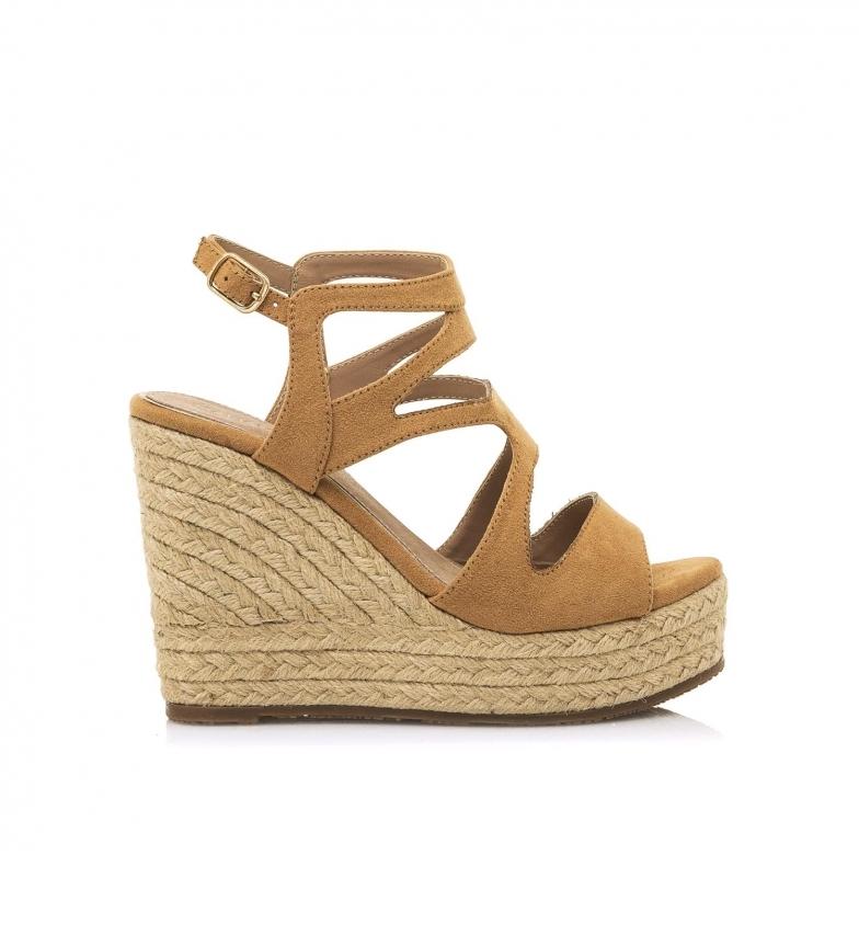Comprar MARIAMARE Sandálias 67819 castanhas -Cunha de altura: 11 cm