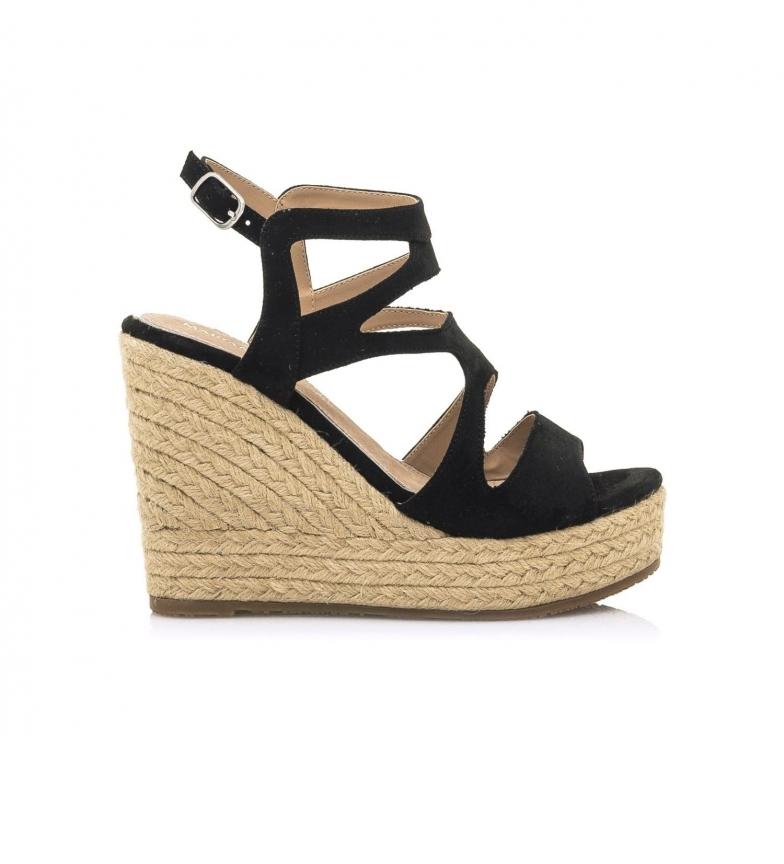 Comprar MARIAMARE Sandálias 67819 preto -Cunha de altura: 11 cm