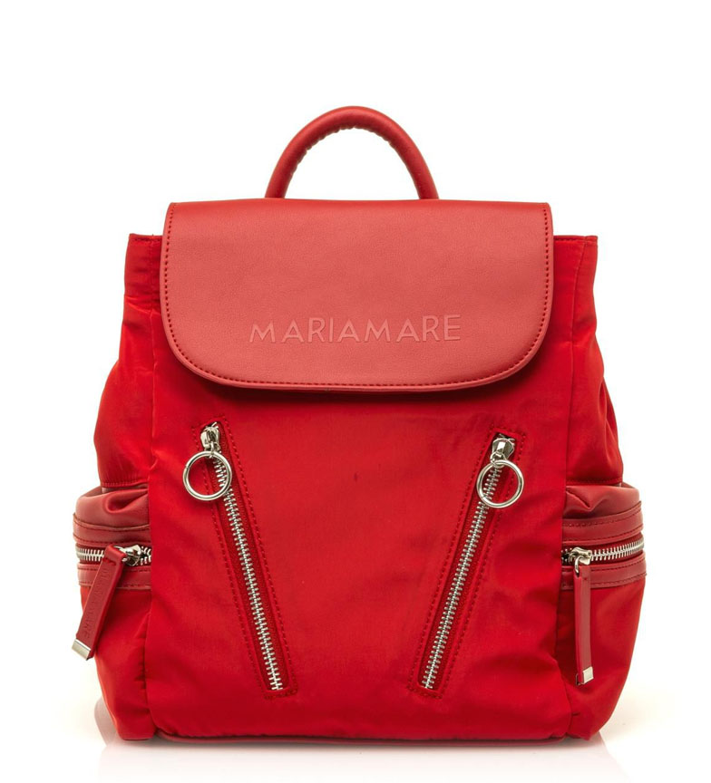 Comprar MARIAMARE Acalia red backpack -25x25x14cm