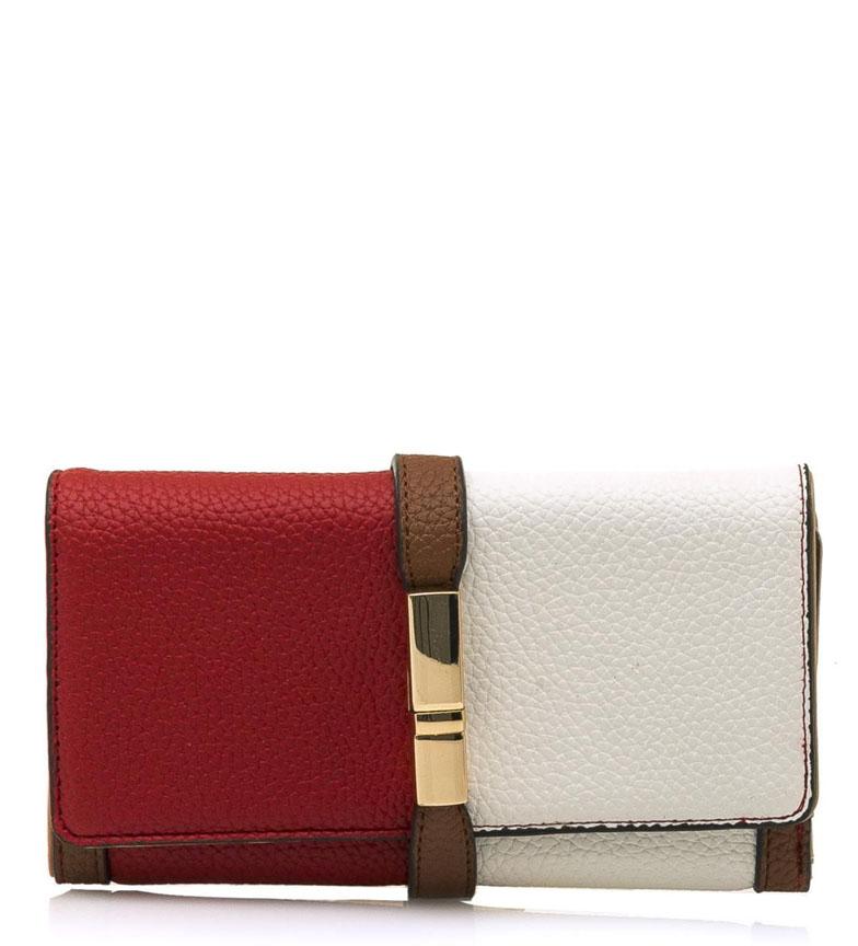 Comprar MARIAMARE Borsa Gretel rossa, bianca -18,5x11x2cm-
