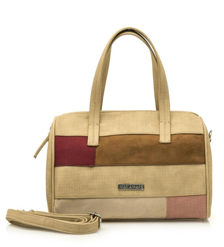 Comprar MARIAMARE Bolso Irina beige -30.5x20x15cm-