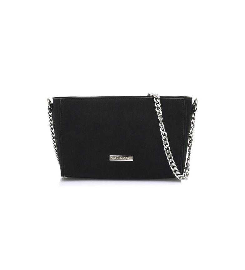 MARIAMARE Black Samoa shoulder bag -21,5x13,5x8,5cm