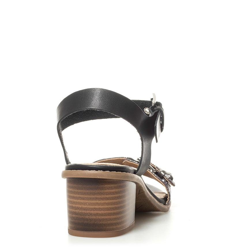 MARIAMARE Altura Beha 6cm tacón negro Sandalias xwBq1vH7w4
