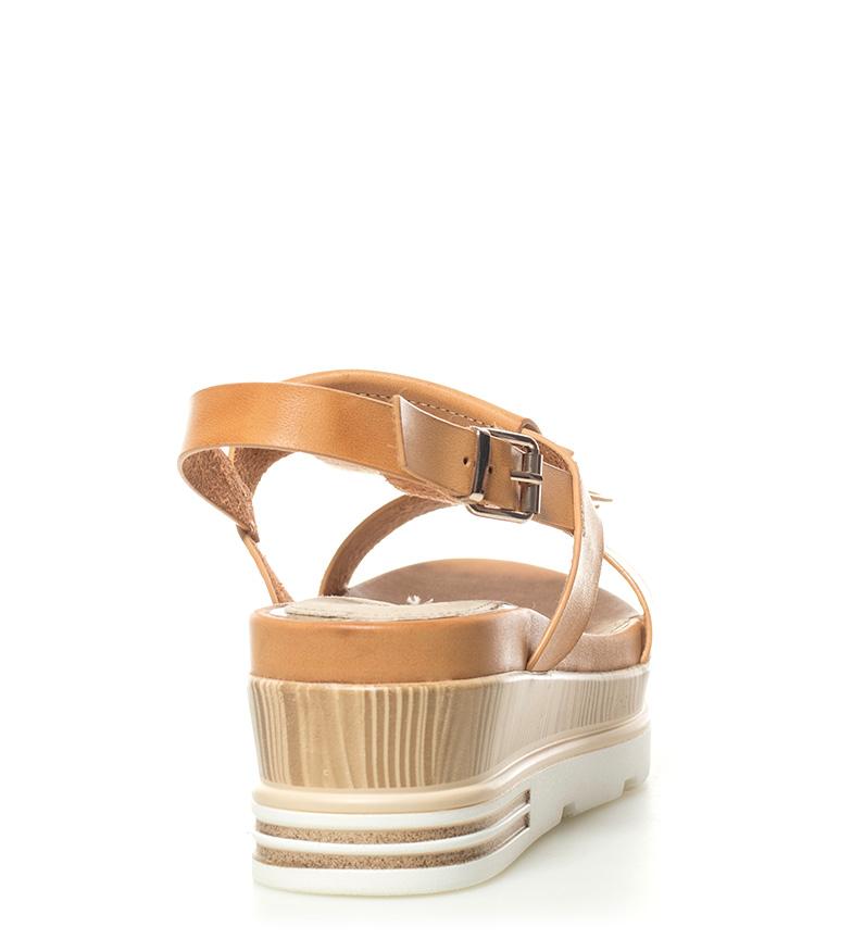 MARIAMARE Rosie plataforma Rosie marrón Sandalias Sandalias marrón 6cm Altura MARIAMARE RBtn6tS