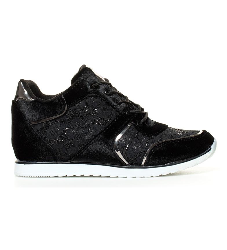 Comprar MARIAMARE Zapatillas Elisabet negro -Altura cuña: 6cm-