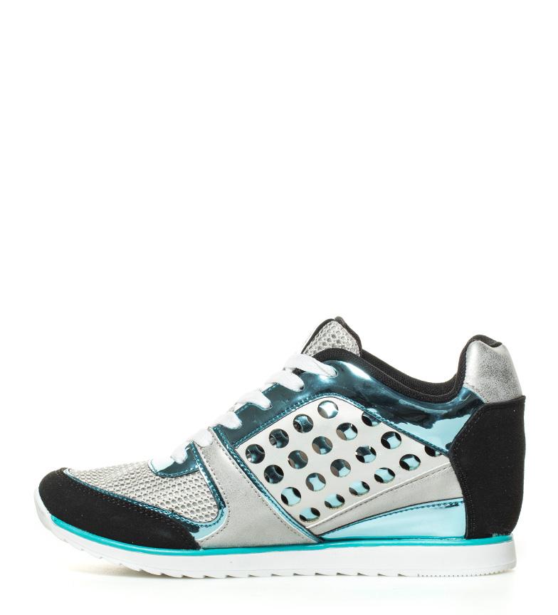 azul Zapatillas negro Iride cuña Altura 6cm MARIAMARE 0ngwfEq1w