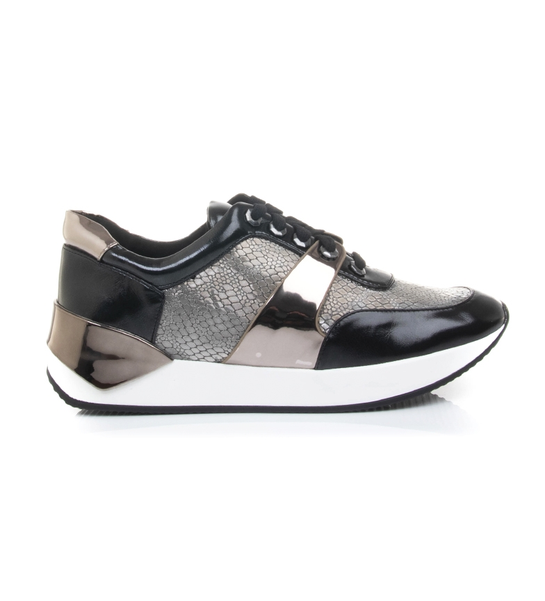 Comprar MARIAMARE Lâmina preta de sapatilhas, animal print