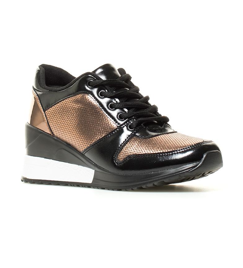 7cm bronce Zapatillas br MARIAMARE br cuña Altura MARIAMARE Maca Zapatillas Pa4qUx