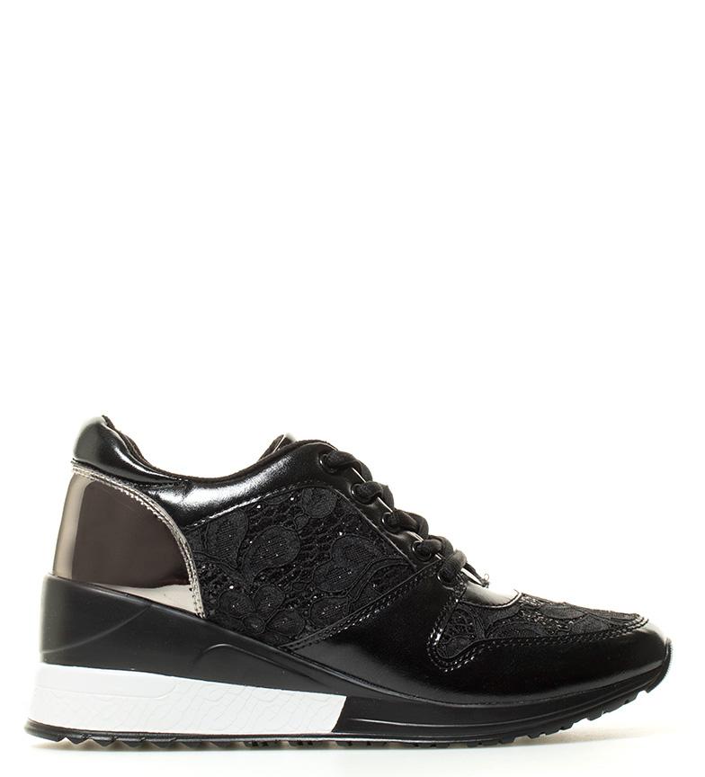 Comprar MARIAMARE Maca chaussures en coin noir -Hauteur: 7cm-