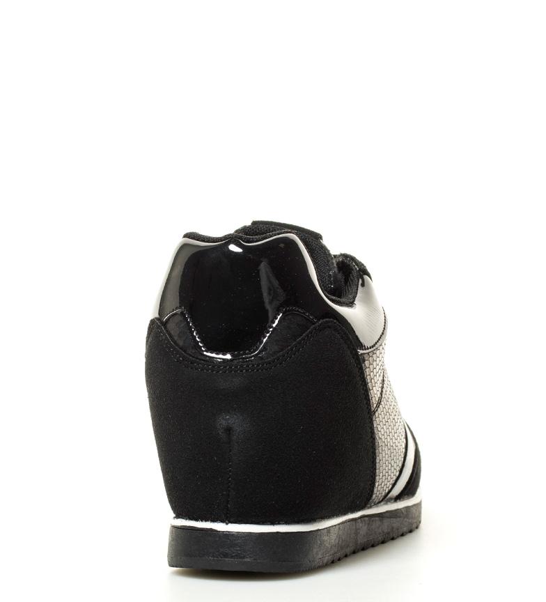 6cm Mirta Zapatillas interior Altura cuña negro MARIAMARE UazYwqY