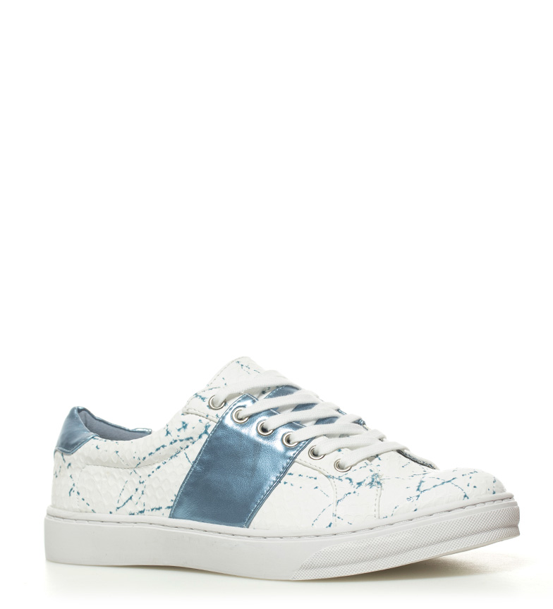 MARIAMARE Gina azul MARIAMARE blanco Zapatillas Zapatillas Gina 5wS4qOn7I