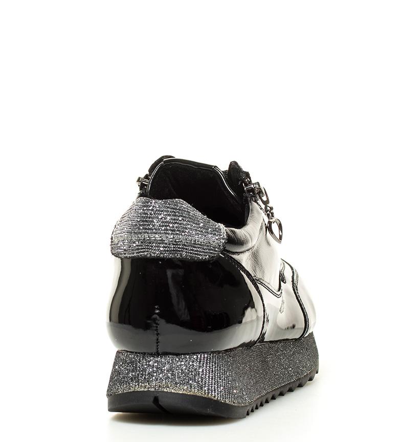 MARIAMARE Zapatillas Zapatillas plataforma 4cm MARIAMARE negro Syna Altura vqqgadx