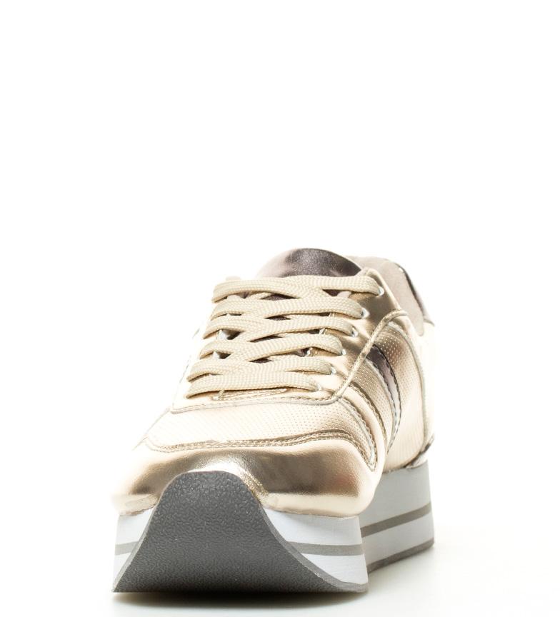 Vega 5cm MARIAMARE Zapatillas 3 dorado suela Altura nzw7RBPxq7