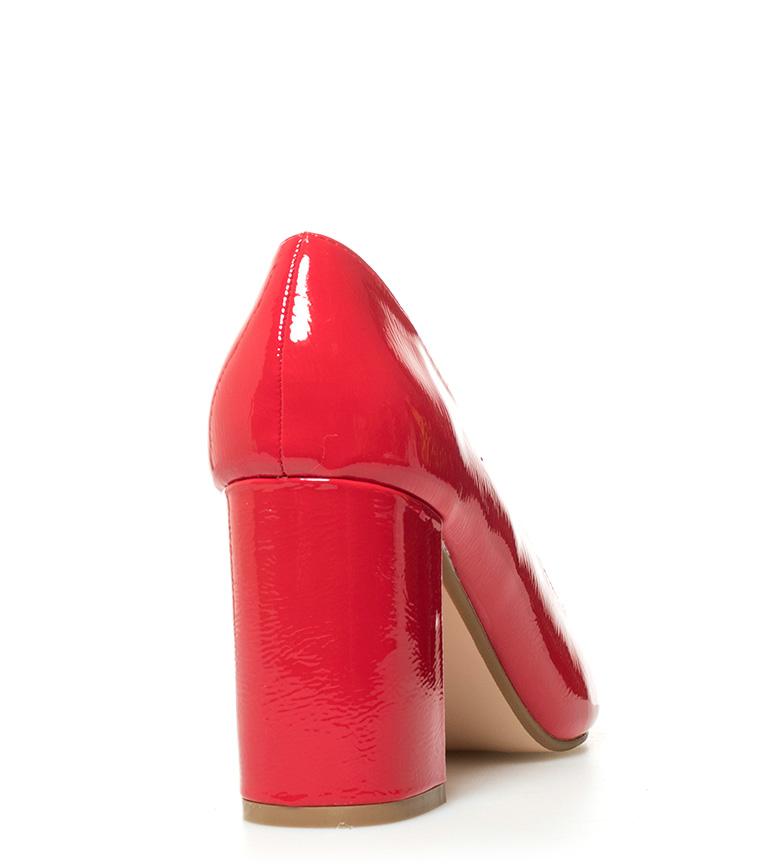 Altura MARIAMARE Zapatos cm Cira rojo tacón 9 td6tg4Twq