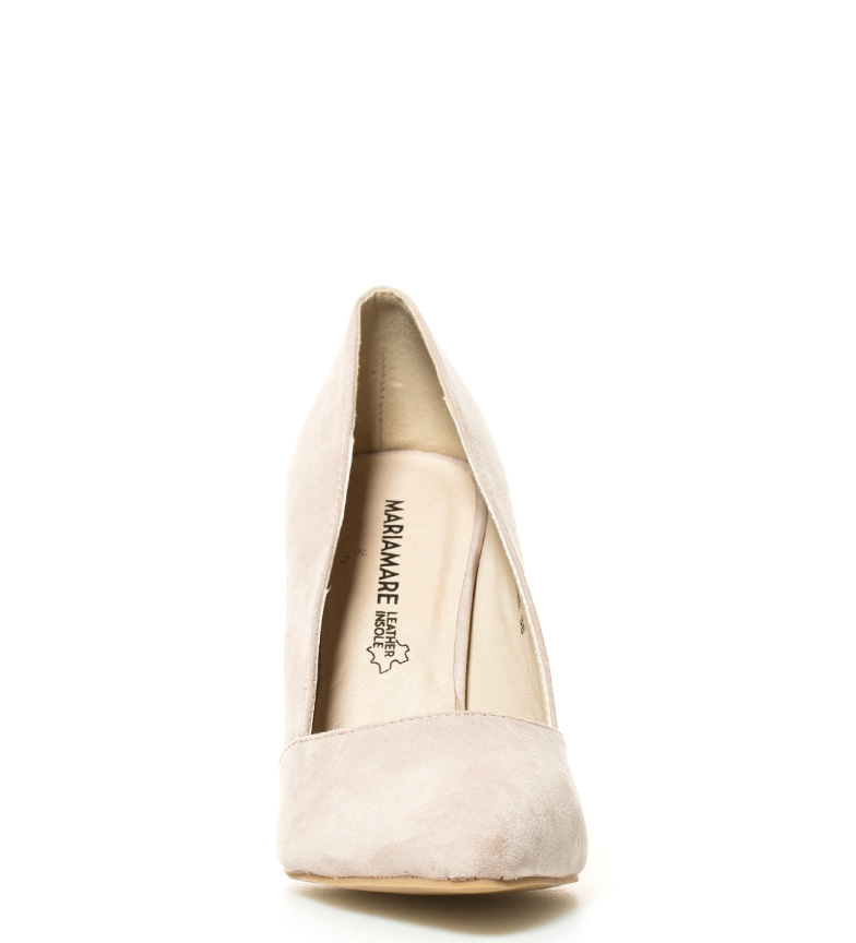 Altura tacón br 5cm Hesel Zapatos 10 br MARIAMARE beige qBX1gn