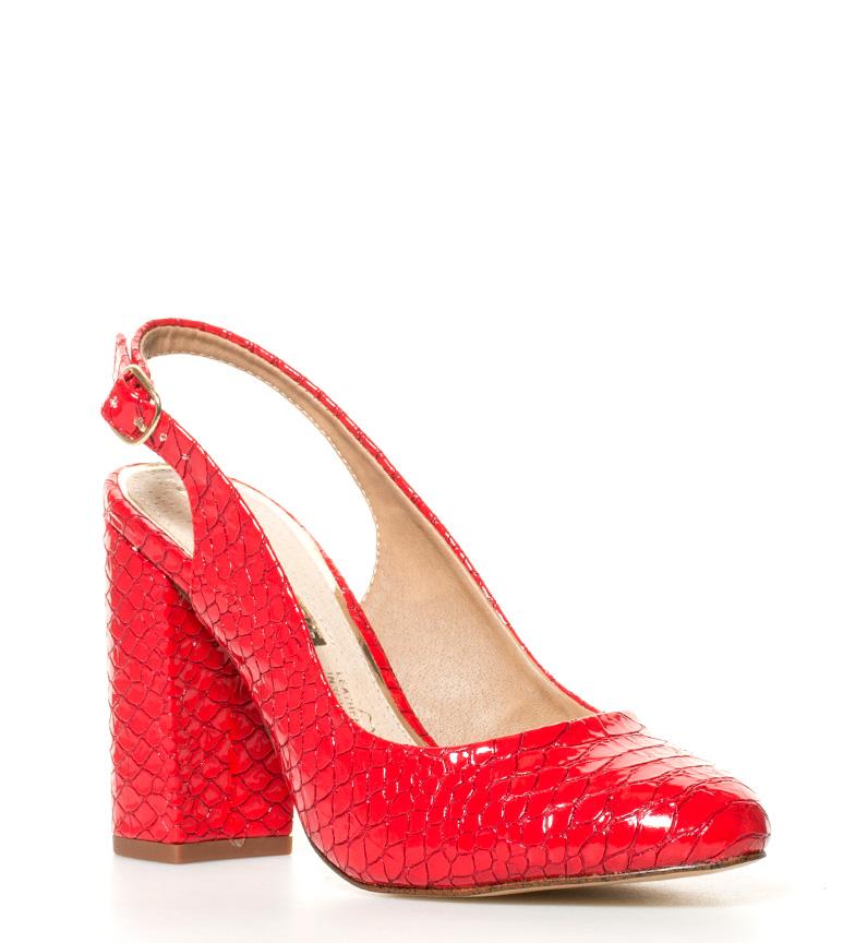 Idun tacón br rojo rojo Zapatos br Zapatos Altura Idun br MARIAMARE MARIAMARE 11cm Altura br wxTIz8